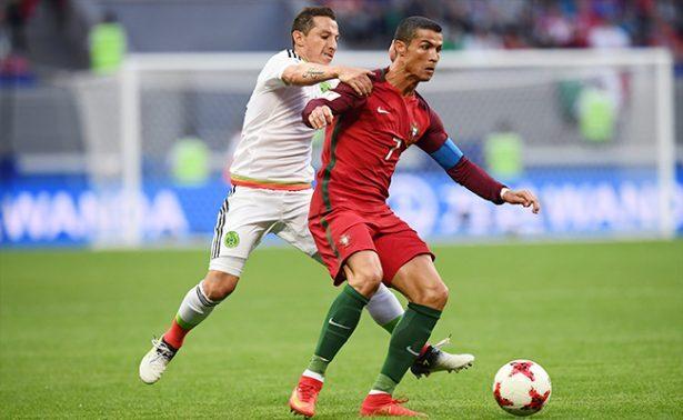 México sobrevive a Portugal y empata al debutar en Copa Confederaciones