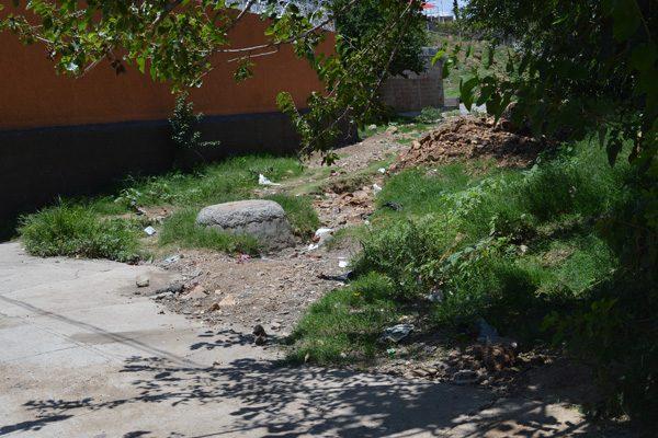 Preocupan arroyo Cabadeña y Adelitas en caso de lluvia fuerte