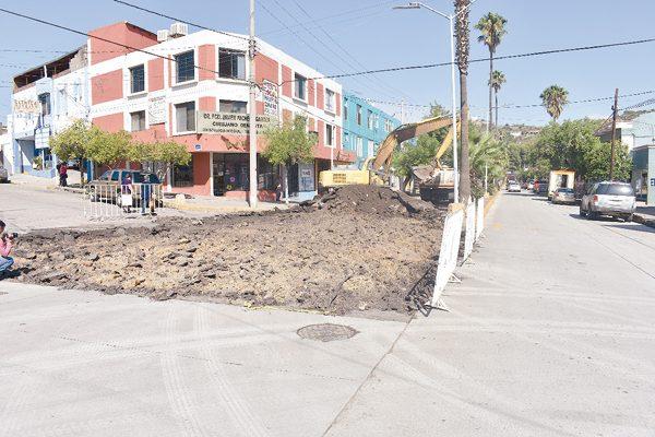 Cierran Av. Independencia por obras de pavimentación