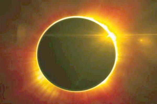 Hoy se registra el  eclipse total solar