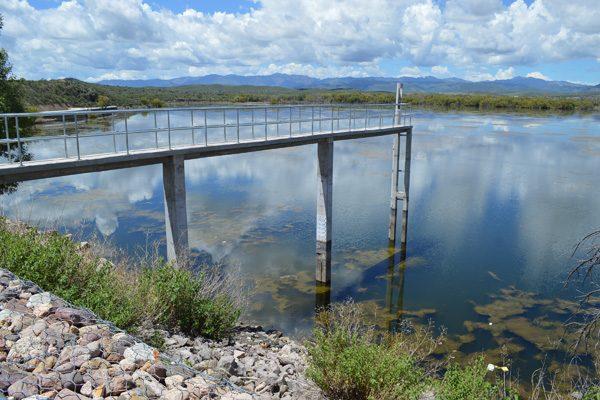 La presa aumentó un 15% de lo captado en días pasados