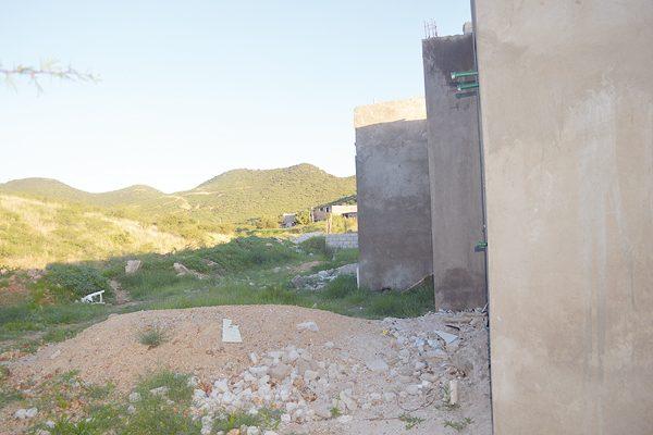 Zona de riesgo en la colonia San José