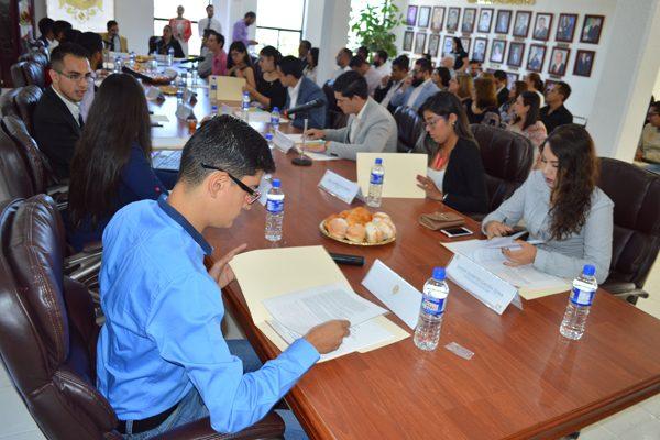 Participan 19 jóvenes en primera sesión de Cabildo Juvenil