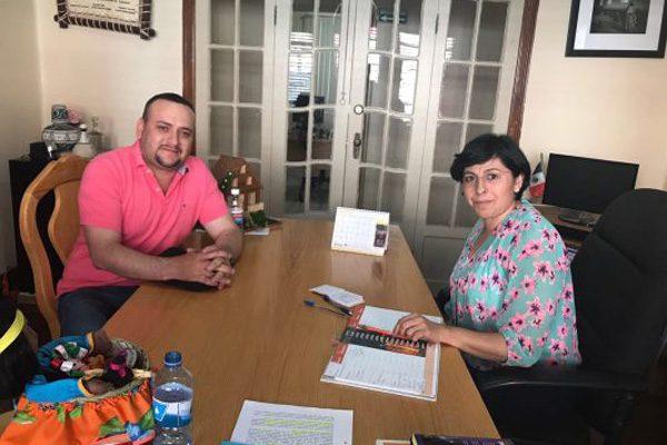 Edil de Balleza y CDI se reúne para gestionar el mejoramiento en la calidad de vida indígena