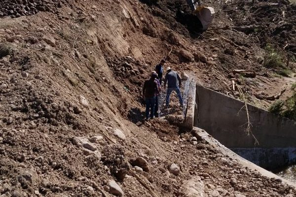 Continúa cerrada por deslave la carretera Guachochi-Nonoava