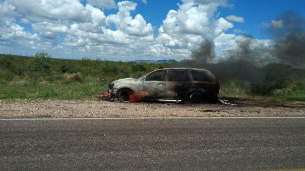 Cuantioso accidente en carretera a Allende