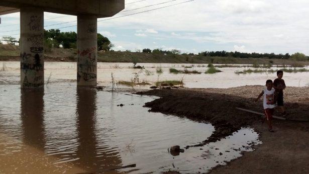 Inició la creciente del río Florido