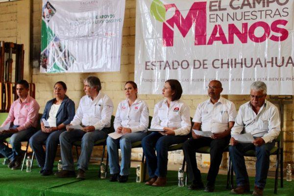 Entregan paquetes para el autoconsumo en Guachochi