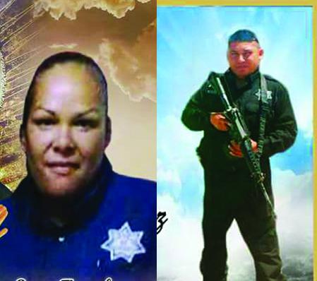 Eran policías dos de los tres muertos en balacera