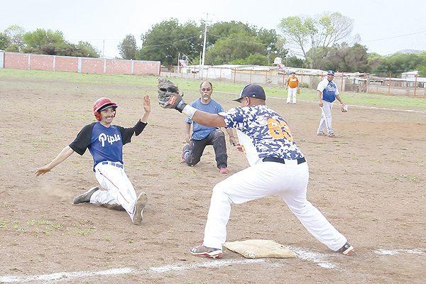 Grupo Pipsa regresó a la senda de la victoria en beisbol de veteranos