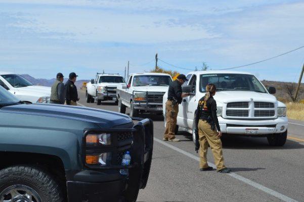 Despliegan Impresionante operativo policiaco en Jiménez