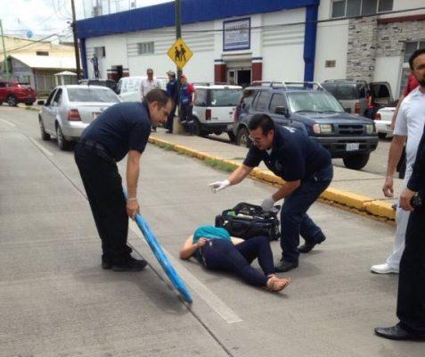 Atropellan a mujer en el boulevard Ortiz Mena