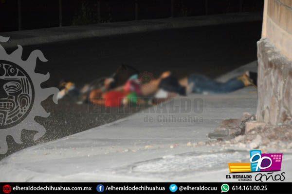 Asesinan a cuatro y tiran sus cuerpos en plena calle; tenían bolsas en la cabeza