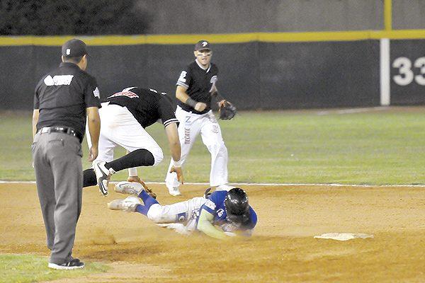 Cayó Mineros al iniciar las semifinales del estatal de beisbol