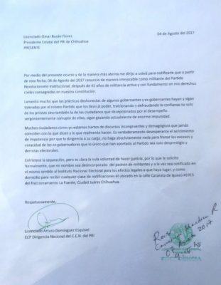 Corre corrupción de Duarte a otro priista