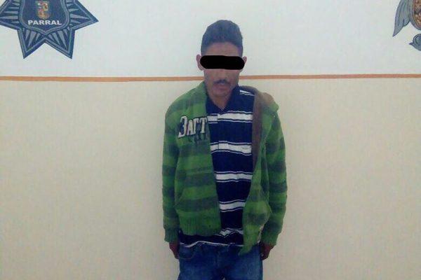 Detienen a un hombre de 36 años por causar actos de molestia