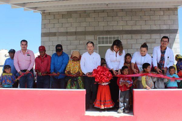 Inauguran Casa de Salud en Pahuiranachi, Guachochi