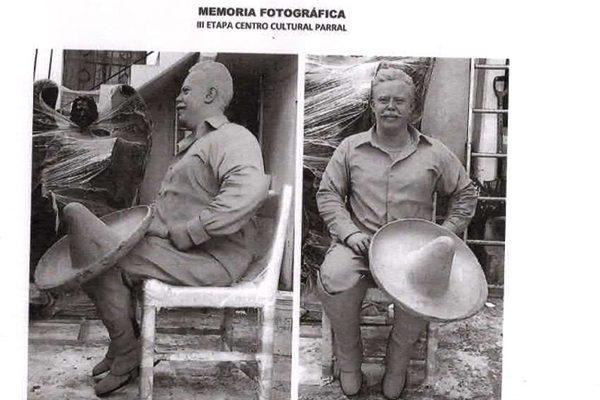 Interpondrán denuncia por robo  de la escultura de Francisco Villa