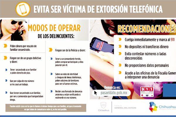 Extorsionan con $21 mil a una mujer en El Tule