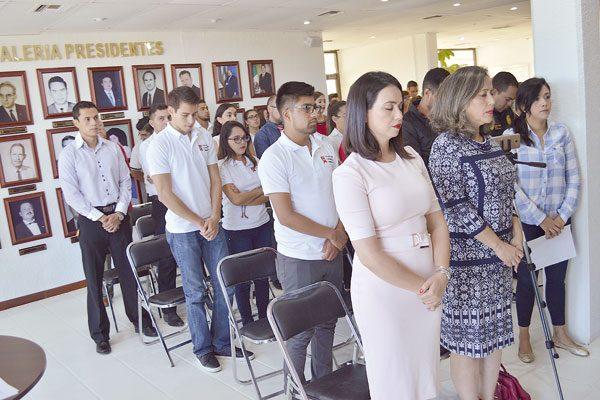 Minuto de silencio en Cabildo  por las víctimas del sismo