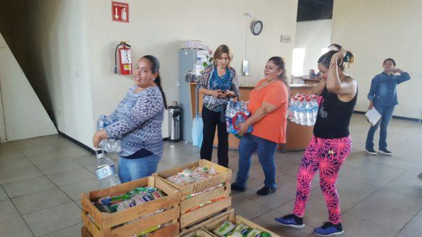 Destaca, solidaridad de parralenses tras sismo