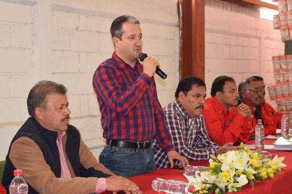 Manuel Armando Valenzuela, nuevo gerente de Diconsa en Guachochi