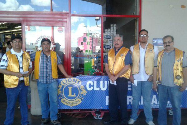"""Adelanta el Club de Leones Parral, A.C. su  colecta anual """"La lata que dan los leones"""""""