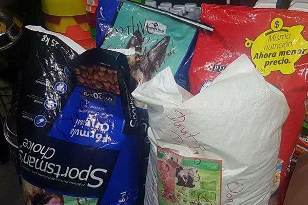 Amigos de los Cachorros Felices instalan centro de acopio para mascotas víctimas del terremoto