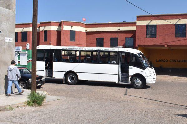 Municipio brindará hoy transporte gratis para vecinos de colonias San José, Héroes de la Revolución y Che Guevara