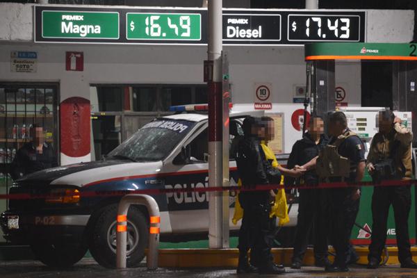 Resultan heridos de gravedad comandante y agente baleados en Allende
