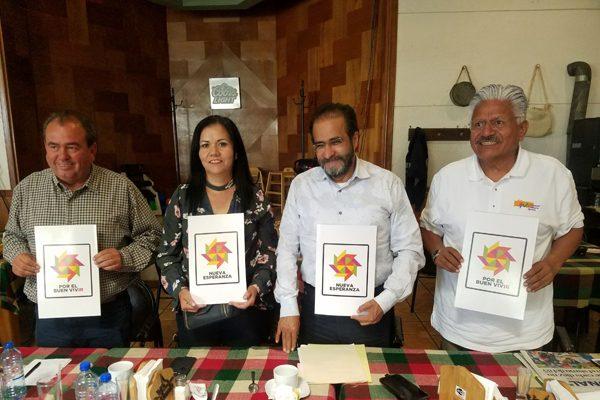 """Encabeza el experredista René Bejarano la primera """"Asamblea de la Esperanza por el Buen Vivir"""""""