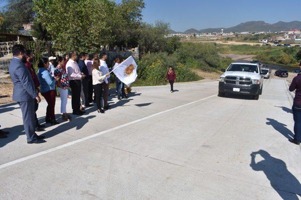 Repavimentarán acceso al Rancho La Esmeralda y Paseos de la Almanceña