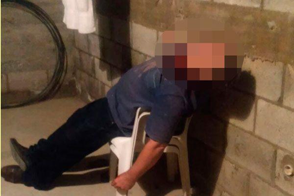 Un hombre intentó suicidarse; lo hallaron con cuchillo en el cuello