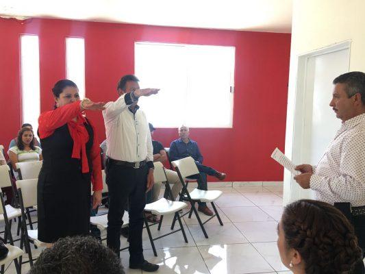 Ángel de la Rocha nuevo presidente del PRI en Guadalupe y Calvo