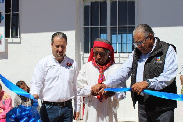 Inauguran Casa de Salud en la comunidad de Pilares