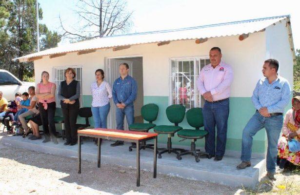 Inauguran mejoramiento de casa de salud en Rosanachi