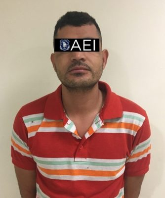 Elementos de la AEI detuvieron en Satevó al conductor de una camioneta robada