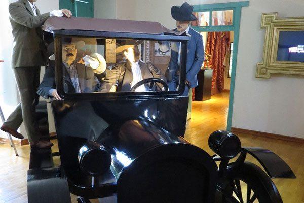 Singular robo de una estatua  de Pancho Villa, en el Museo de  Sitio; no estaba en exhibición
