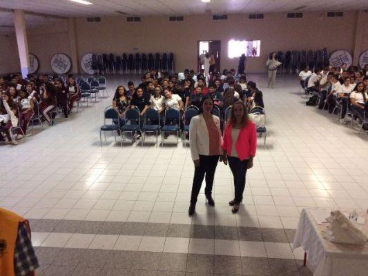 Imparte el CAPA talleres de mitos y realidades sobre las Drogas en secundarias de Jiménez