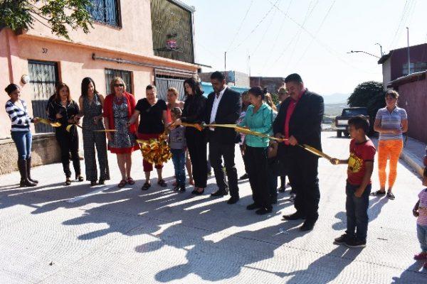 Entrega alcalde más de 2 mil mts²de pavimentación; Atiende necesidades más apremiantes