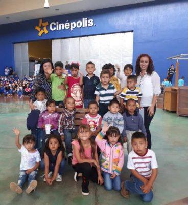 Función de cine para niños de San Andrés y Santa Teresa: DIF