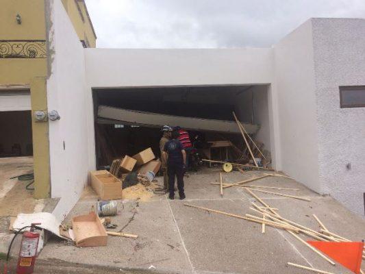 [Galería] Explota tanque estacionario en Haciendas del Parque; tres lesionados y daños hasta por un millón de pesos