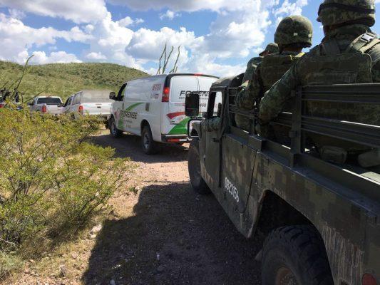Reportan cuatro asesinados en vehículo calcinado rumbo Aldama
