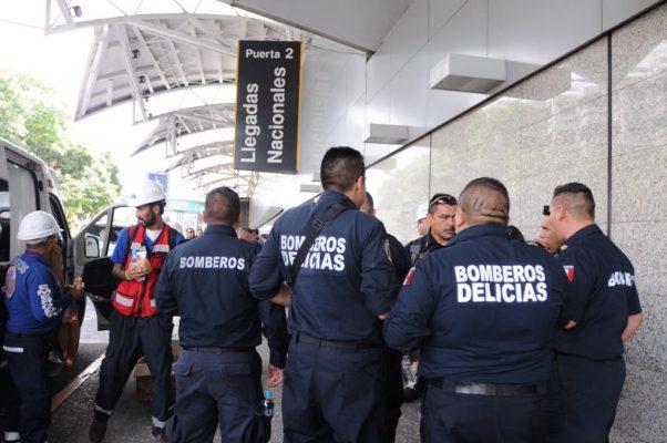 Llegan a la ciudad de México, equipo de rescate de 5 municipios de Chihuahua