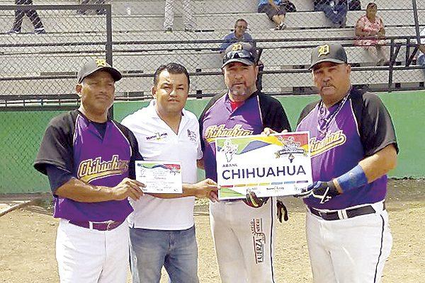 Chihuahua y BCN comparten el título del nacional de beisbol súper máster