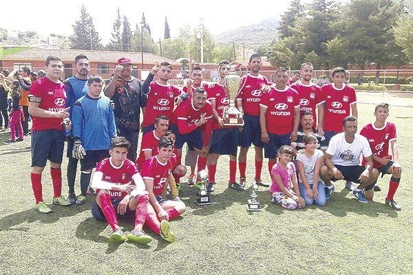 Forestal Santana, campeón del fútbol municipal de segunda fuerza