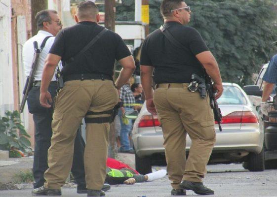 Asesinan a 4 cerca de la Ciudad Judicial; balacera en pleno centro