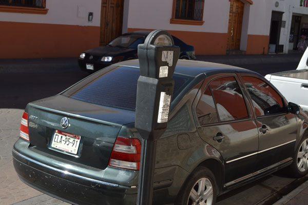 Hasta 70 multas en parquímetros en la zona centro los fines de semana