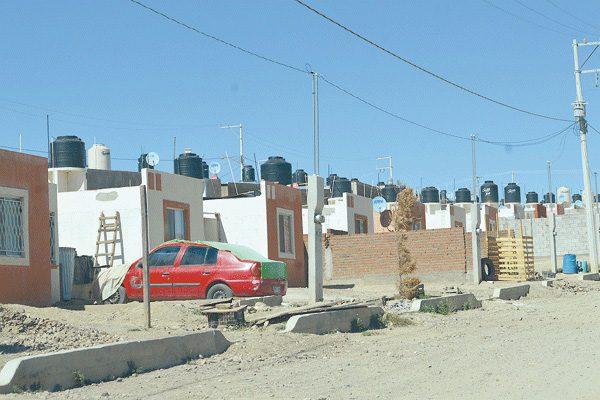Sin habitar, 13 casas en la Col. Parral Vive