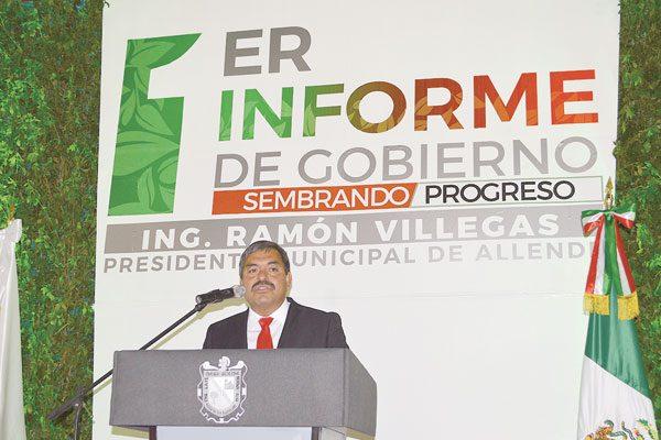 Alcalde de Allende destaca 4 ejes prioritarios en su gestión